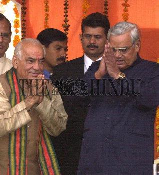 Image Id : 2009653 <span>Date : 2003-11-29 <span>Category : Politics</span>