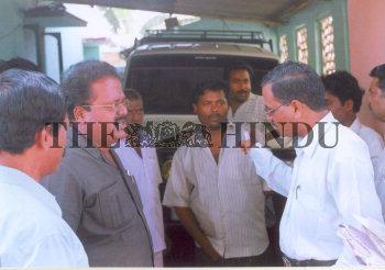 Image Id : 5021719 <span>Date : 2005-06-03 <span>Category : Politics</span>