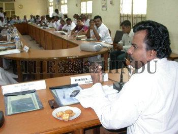 Image Id : 12574328 <span>Date : 2007-05-26 <span>Category : Politics</span>