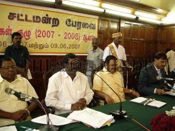 Image Id : 12780599 <span>Date : 2007-06-08 <span>Category : Politics</span>