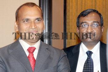 16/09/2010 MUMBAI: (L) Mr  Alla Ayodhya Rami Reddy, Chairman