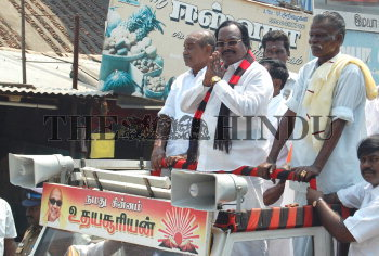Image Id : 123014559 <span>Date : 2011-04-04 <span>Category : Politics</span>