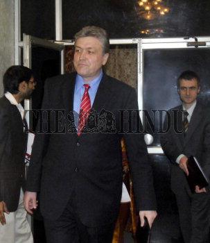 Image Id : 131257771 <span>Date : 2012-02-24 <span>Category : Politics</span>