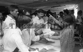Image Id : 157205573 <span>Date : 1995-06-29 <span>Category : Politics</span>