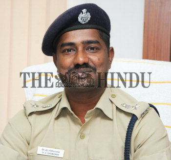V  Sasi Mohan, assumed Deputy Commissioner of Police at Law and